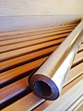 Type C Single Sided Foil Vapor Barrier + 1 Roll of Foil Tape! Covers up to a 6' x 8' Sauna