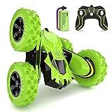 SGILE RC Voiture Télécommandée - 4WD Stunt Car avec Batterie...