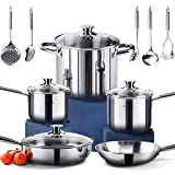 HOMI CHEF 14-Piece Nickel Free...
