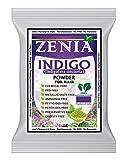 2 Packs x 100 grams Zenia Indigo Powder (Indigofera Tinctoria) Hair/Beard Dye Color