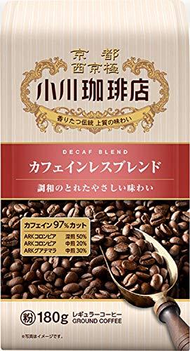 小川珈琲店 カフェインレスブレンド 180g(粉)