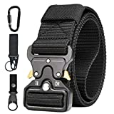 Ceinture Tactique en Nylon, Waist Belt Tactical Heavy Duty Homme Web Bande...