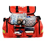 First Aid Kit Emergency Response Trauma Bag...