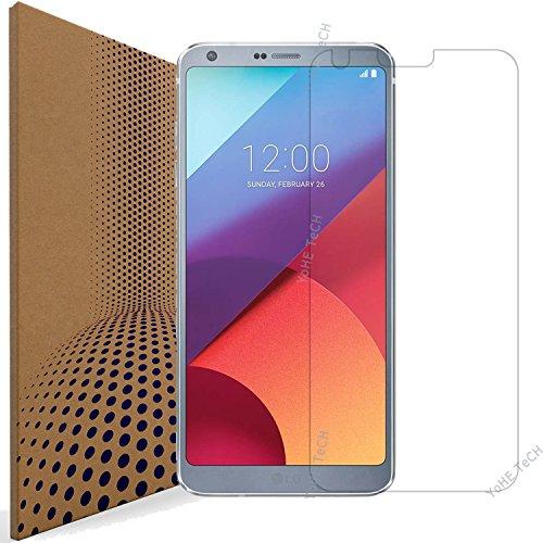 VLP LG G6 Pellicola Protettiva Vetro Temperato, Pellicola in Vetro Temperato per LG G6 (Bordo Arrotondati 2.5D - Chiarezza 98% - Anti Impronta)