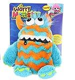 Worry-Monster-Plüsch-weiches Spielzeug blau und Orange