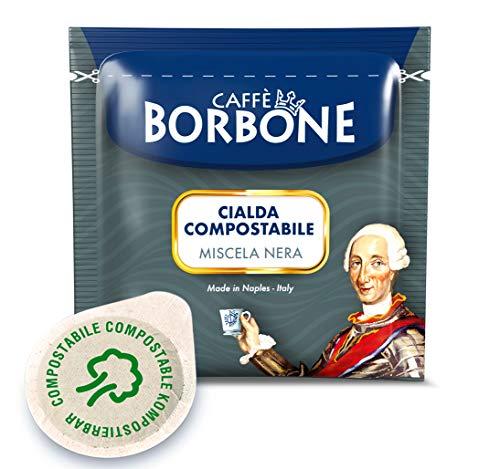 Caffè Borbone Cialde Miscela Nera - Confezione da 150 Cialde, (150 x 7,2 g) 1080 g - Compatibili E.S.E. dm 44