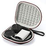 Estuche rígido para Sony Wh-CH510 / Sony WH-CH500, Sony MDR-ZX330BT Auriculares inalámbricos Bluetooth, Bolsa Protectora de Viaje para Transporte - Negro (Forro Gris)