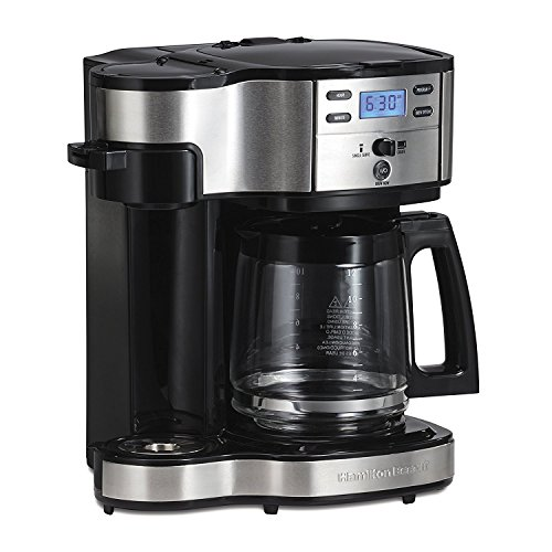 Hamilton Beach 2-Way Brewer Coffee Maker, Single-Serve and...