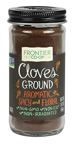 Frontier Natural Products Cloves, Ground, 1.92 Ounce