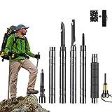 Pôle de Trekking Bâtons De Randonnée Batons de Marche Trekking Poles...