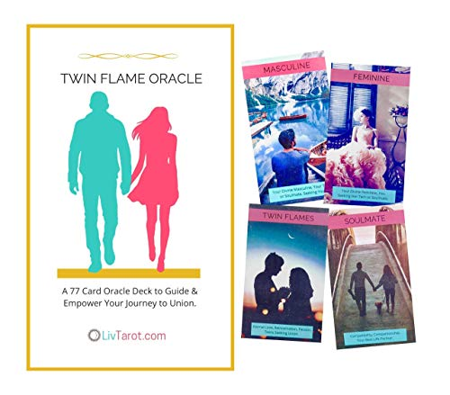 Twin Flame Oracle Deck. 77 Cards for Love Relationships and...