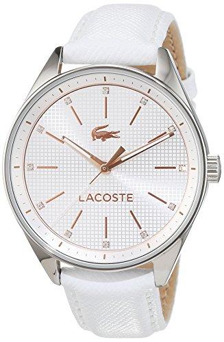 Lacoste Damen-Armbanduhr Analog Quarz Leder 2000900