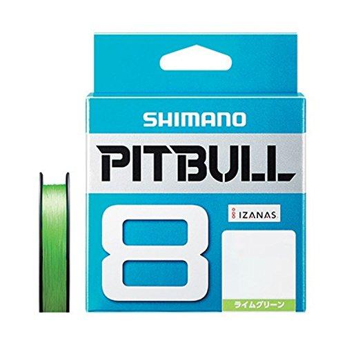 シマノ(SHIMANO) PEライン ピットブル 8本編み 150m 0.6号 ライムグリーン 14.5lb PL-M58R 釣り糸