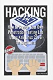 Hacking: How to Create Your Own Penetration Testing Lab Using Kali Linux 2016 for Beginners (Computer science)