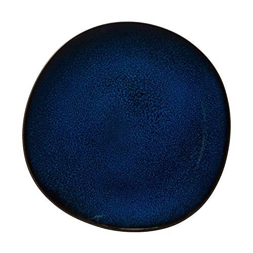 Villeroy & Boch Lave Bleu Speiseteller, 28 cm, Steingut, Blau