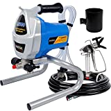 Hausse Electric Airless Paint Sprayer Spray Gun, 3000PSI Project Painter Power Painting for Professional Contractor, DIY Handyman, Home Exterior, Fence, Shed, and Garage