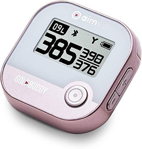 GolfBuddy Aim V10 Talking Golf GPS Rose Gold (V10 GPS)