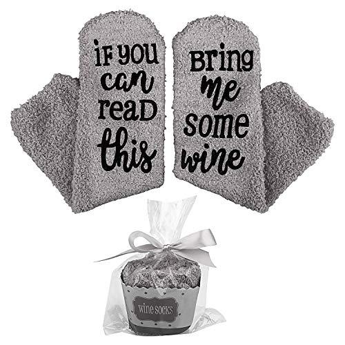 Wein Socken mit lustigen Worten,If You Can Read This-Funny Zubehör für sie, Geschenk für...
