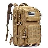 G4Free 40L Sac à Dos Tactique Militaire Molle 3 Jours d'assaut Grande Capacité pour Randonnée Camping...