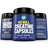 Raw Barrel's Pure Creatine Monohydrate Capsules - 240 Micronized Pills 700mg - Includes Digital Guide