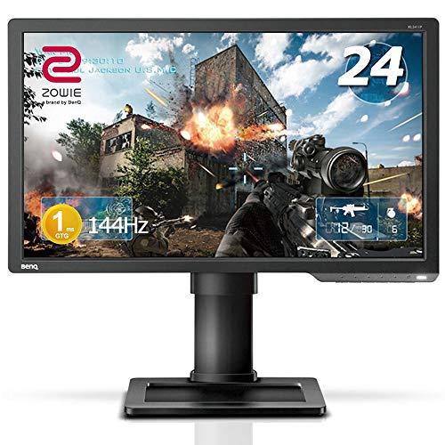 BenQ ゲーミングモニター 24インチ 144Hz 1ms ブルーライト軽減 ZOWIE XL2411P フルHD HDMI DisplayPort DV...