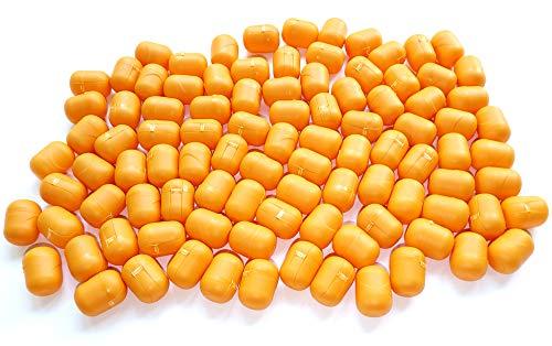 Bussolotti ideali lotterie estrazioni lotteria estrazione 100 x Arancio da 45mm