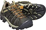 KEEN Men's Voyageur Trail Shoe, Black Olive/ Inca Gold, 11 M US