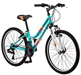 Schwinn High Timber Mountain Bike, Steel Frame, 13-Inch Wheels, Teal