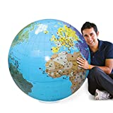 Caly Sarl - 060F - Globe Gonflable Monde - Taille...