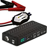 RUGGED GEEK RG1000 INTELLIBOOST 1000A Portable Auto Jump Starter and...