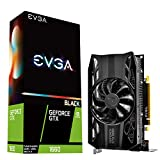 EVGA GeForce GTX 1660 Black Gaming, 6GB GDDR5, Single Fan 06G-P4-1160-KR