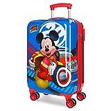 Disney World Mickey Maleta de cabina Multicolor 34x55x20 cms Rígida ABS Cierre combinación 37.4L 2,6Kgs 4 Ruedas dobles Equipaje de Mano