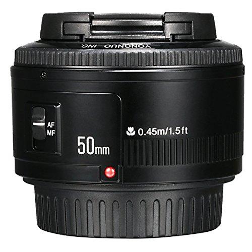 Yongnuo YN 50mm F/1.8 AF/MF Large Aperture Auto Focus Lens Per Canon EF Mount EOS Camera LF651