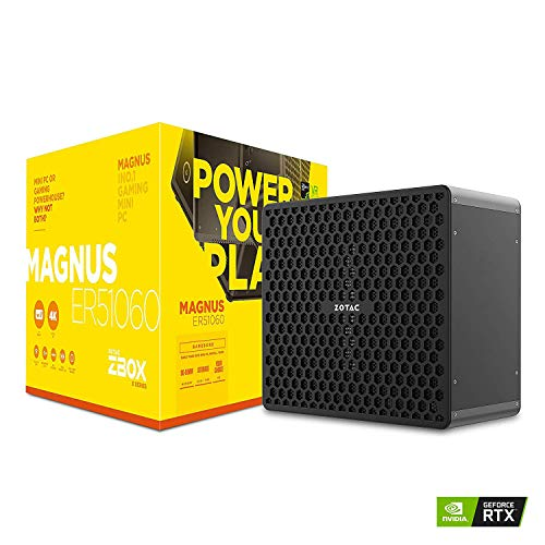 ZOTAC ZBOX MAGNUS ER51060 mini-PC Barebón (AMD Ryzen 5 1400 quad-core, GeForce GTX 1060)