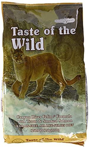 Taste Of The Wild pienso para gatos con Trucha y Salmon ahum
