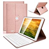 COO Housse Clavier iPad Mini 4 Bluetooth, Clavier AZERTY Français Etui Coque...