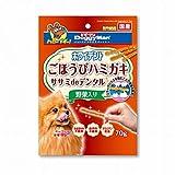 ドギーマン ホワイデント ササミdeデンタル 野菜入り (70g) ドッグフード 犬用おやつ