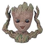 thematys Baby Groot Maceta - Figura de accin para Plantas y bolgrafos de la pelcula clsica - Perfecto como Regalo - Soy Groot (B)