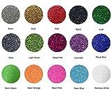 Fame Crafts Glitter Heat Transfer Vinyl (HTV), 12' x 10' 15-Color...