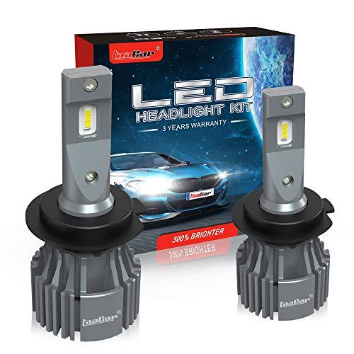 TAACAR Lampadine H7 LED 12000LM 6500K, CanBus, 3 Anni di Garanzia.