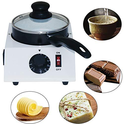 RANZIX Schokoladenschmelzgerät Schokoladen Topf Butter milch Schmelztiegel Schmelzmaschine+Ceramic Melter Pot