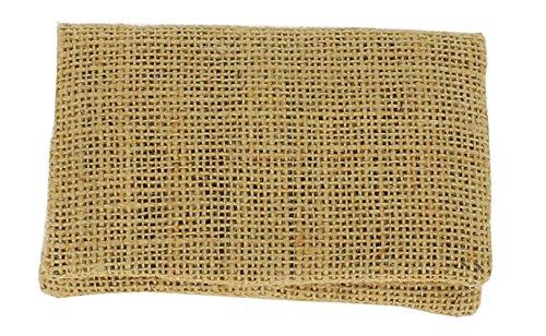 Plan B, Portasigarette Tabacco Trinciato, Two Days Sacco, 11.5 x 7.5 cm, 15 g, con Borsa in Gomma EVA, Iuta Beige