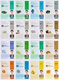 Dermal Korea Collagen Essence Full Face Facial Mask Sheet, 16 Combo...