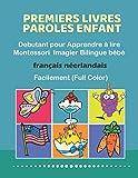 Premiers Livres Paroles Enfant Debutant pour Apprendre à lire Montessori Imagier Bilingue...