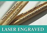 Baguettes personnalisées, disponibles en 5A, gravées au laser, cadeau...