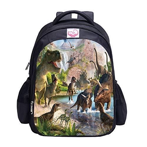 Dinosaur Backpack MATMO Dinosaur Backpacks for Boys School Backpack Kids Bookbag (Dinosaur 6)