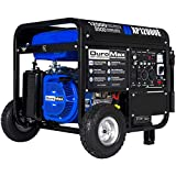 DuroMax Gas Powered Portable 12000 Watt-Electric Start-Home Back Up & RV Ready, 50 State Approved Generator