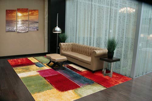 ABC Tappeto Gallery F Multicolore 200 x 200 cm