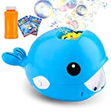 balnore Bubble Machine,Automatic Bubble Maker 2000+ Bubble Blower for Kids,Easy to Use for Parties Wedding Baby Showers Indoor/Outdoor(Blue)