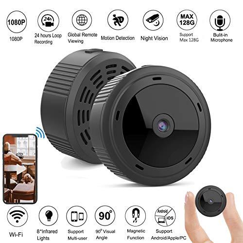 Gurmoir Remote Wireless Mini Spy Camera Hidden...